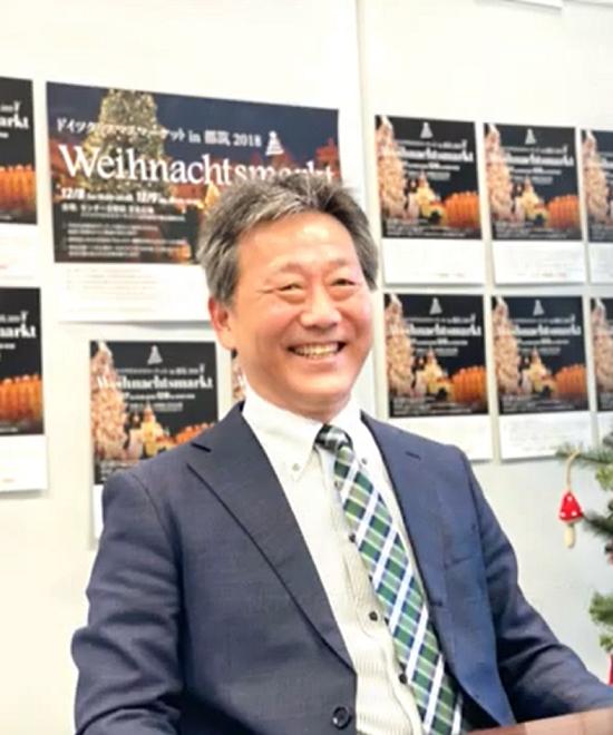 都筑・ドイツ交流イベント実行委員長<br />横田雅之会長