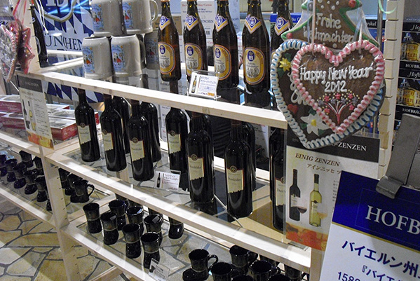 2011のクリスマスマーケットの様子