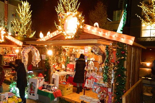 2013のクリスマスマーケットの様子
