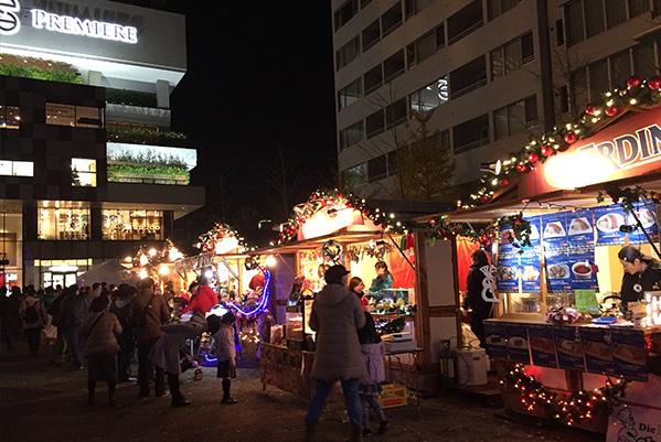 2014のクリスマスマーケットの様子